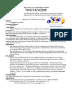 Sept 2011 Drug Free Minutes