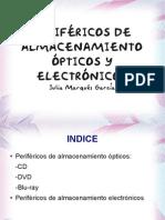 Perifericos de Almacenamiento Opticos y Electronicos