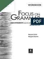Longman Focus on Grammar Workbook 4. High-Intermediate