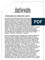 Radio Active Wastes
