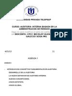 Auditoria Financier A Unidad i y II