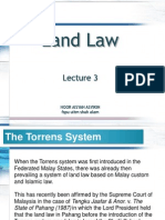 BSB511 Lecture 3 (Torrens System & NLC)