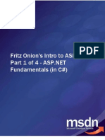 Fritz Onion Intro to ASP.net Part 1 of 4 ASP