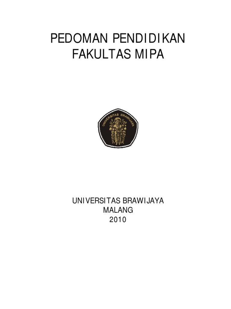 04 buku pedoman fmipaub ccuart Image collections