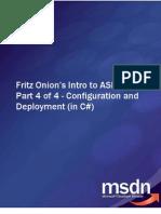 Fritz Onion's Intro to ASP