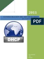 Configuraciondel servidor DHCP