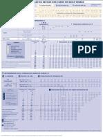 Tabela Determinação Secção BT