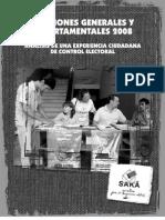 Elecciones generales y departamentales 2008. Análisis de una experiencia ciudadana de control electoral - Decidamos - PortalGuarani - Paraguay