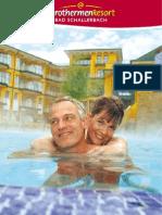 Katalog des EurothermenResorts Bad Schallerbach