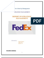 Fedex the Strategic Audit