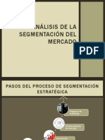 Análisis de la segmentación del mercado