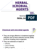 Herbal Anti- Microbial Agents