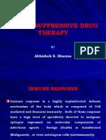 Immunosuppressive Drug Therapy