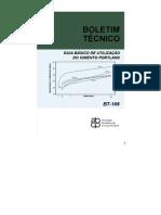 Guia Basico de Utilização do Cimento Portalnd BT106_2003
