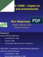 Presentation Ron Water Meyer