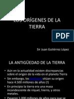LOS ORÍGENES DE LA TIERRA