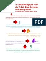 5 Alasan Gokil Mengapa Film Indonesia Tidak Bisa Setenar Film Hollywood