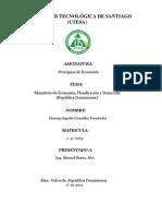 Ministerio de Economía, planificacion y desarrollo