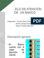 MODELO DE ATENCIÓN DE  UN BANCO
