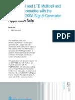 1GP80 0E FDD LTE Multicell Multi-UE Scenarios