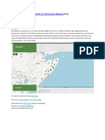 Center for Community Mapping- Horn of Africa Aid Map