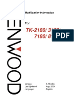 Kenwood Tk-2180 3180 7180 8180 Modification Info