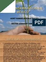 La Contaminacion en Mexico