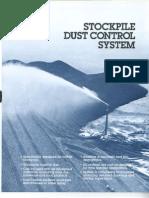 Stockpile Dust Suppression
