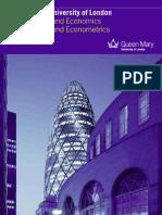 Msc Finance and Economics Eco No Metrics 2010 11 (2)
