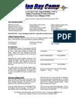 Aviation Day Camp Registration Form PDF 06 07 2007