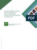 Condiciones de trabajo y gestión preventiva en las empresas de gestión de RSU Andalucía