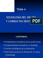 Tema 4 - Sociología Del Delito