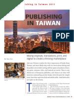 Publishing in Taiwan September 2011