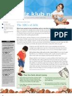 Kidz Klub News, September 2011 Newsletter
