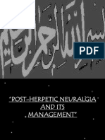 Post-herpetic Neuralgia And