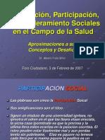 Movilizacion Participacion y to Sociales