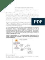 GENERALIDADES DE LOS PROYECTOS DE ELECTRIFICACIÓN SOLAR COMUNAL
