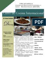 Cocina Internacional en UPR Aguadilla