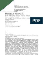 Alain de Libera - Mistica Renana