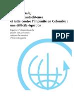 Rapport d'observation de procès - Popayán, Colombie