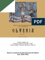 ### - Biserici cu pictură murală exterioară din Oltenia [Mz. Jud. Alexandru Ștefulescu Targu Jiu]