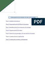 Access Diseño de una aplicación