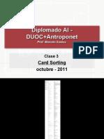 Taxonomía - DUOC AI - Card Sorting - clase 03