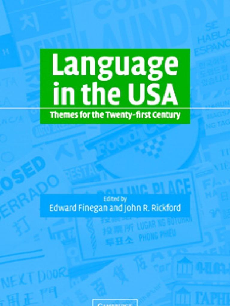 Language in usa english language human communication fandeluxe Images