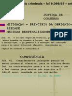 Professor A Ivone - Juizados Especiais Criminais - 6º Sem. 2007