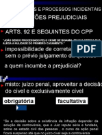 Professor A Ivone - Das QuestÕes e Processos Incident a Is
