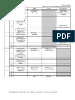 3-VanVliet-Horizontal Mapping & Daily Schedule