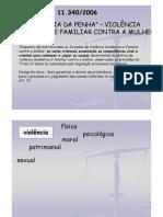 Professor A Ivone - 8º Sem- Lei Maria Da Penha - III