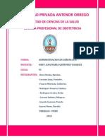 Esquema Plan Operativo p.s. Villa Del Mar