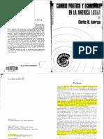 Cambio Político y Económico en la América Latina de C.W. Anderson